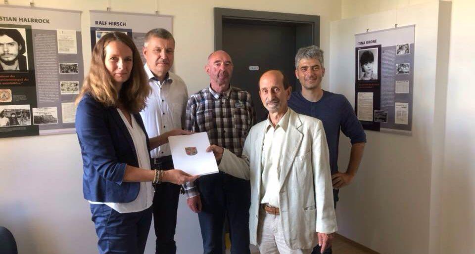 """Permalink auf:Das Projekt """"Zeitzeugeninterviews / Dauerausstellung"""""""